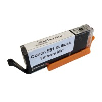 Eetbare inkt Canon CLI-551 XL Photo Zwart cartridge (smalle uitvoering) huismerk