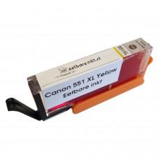 Eetbare inkt Canon CLI-551 XL Yellow cartridge (huismerk