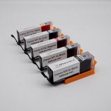Eetbare inkt  Canon PGI-570 XL + CLI-571 XL (5-Pack)  - Met Reinigingstool