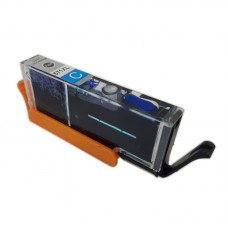 Eetbare inkt Canon CLI-571 XL cyaan (huismerk)
