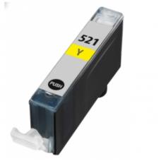 Eetbare inkt Canon CLI-521 Yellow met chip (huismerk)
