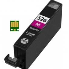 Eetbare inkt Canon CLI-526 Magenta met chip (huismerk)