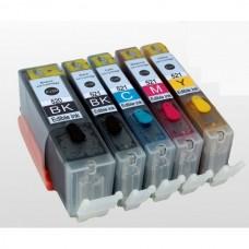 Eetbare inkt Canon PGI-520 + CLI-521 cartridges (Multi-5 Pack) met chip